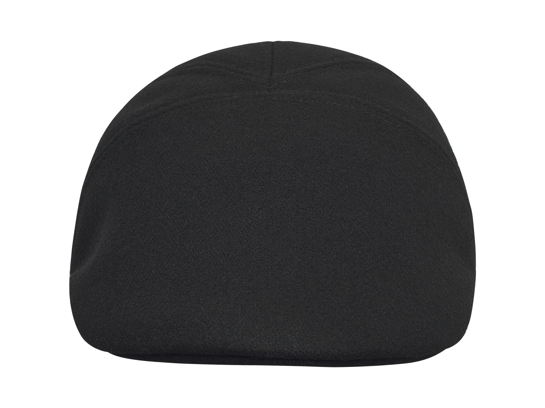 5f80febd6f6bb Genuine leather aviator cap with collar. Cap with polar fleece lining.