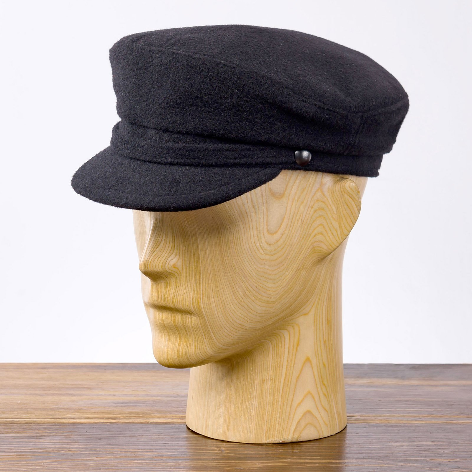 Melton wool greek fisherman breton cap sailor captains nautical skipper seaman mariner boatman