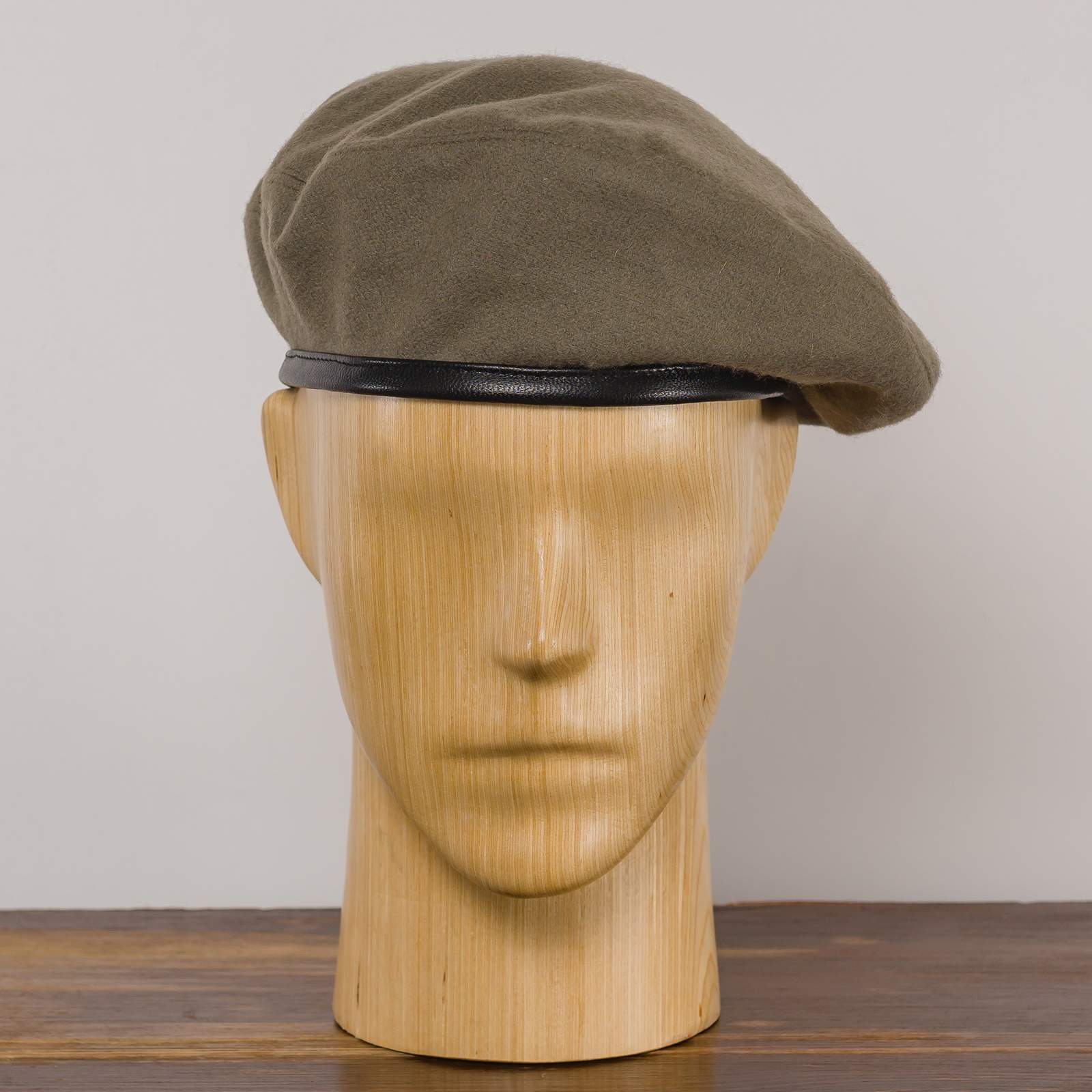 Wool cloth parachute brigade historical replica beret military Polish army sewn men's boy scout reservist che beatnik