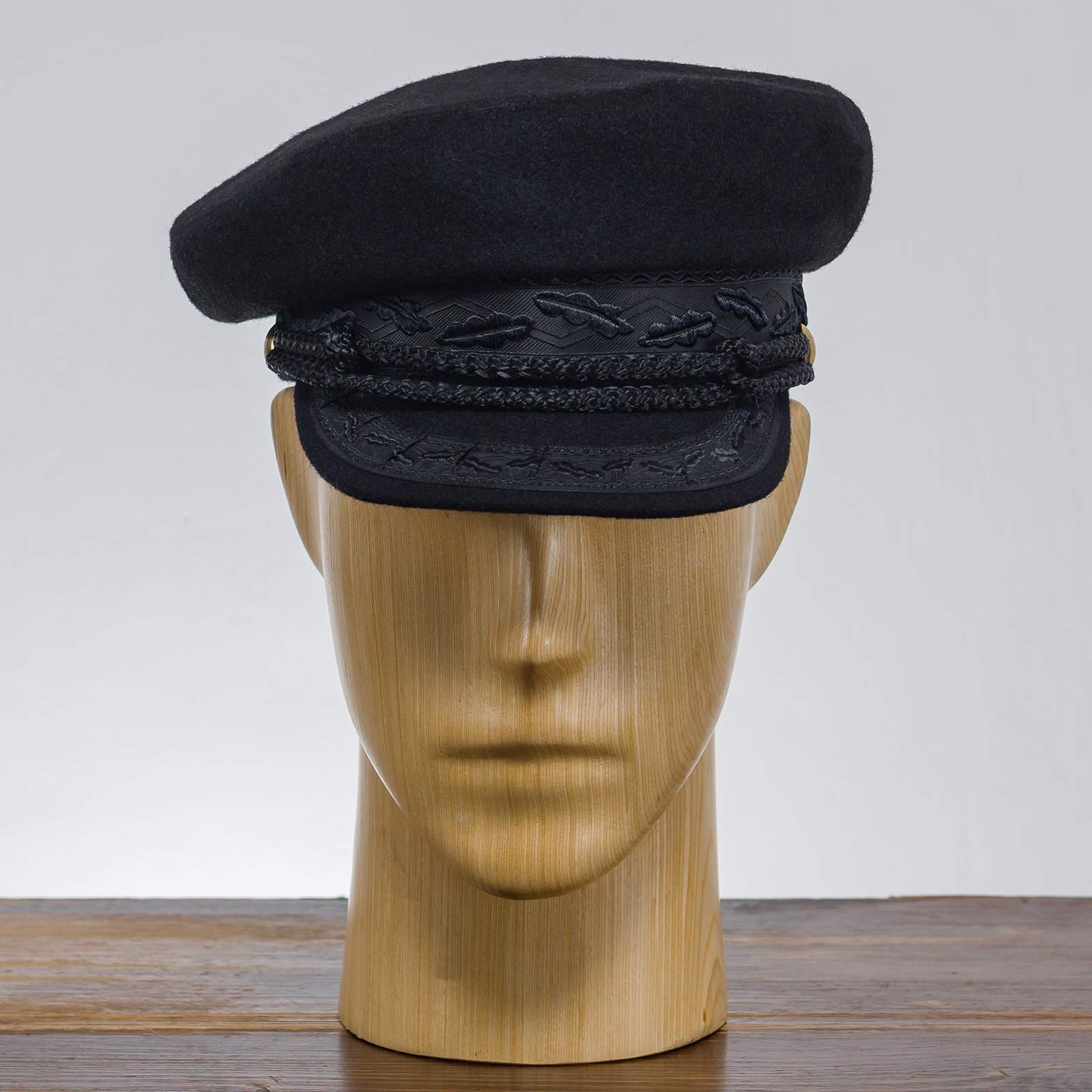 Wool traditional marine breton cap merchant fleet sailor mariner captains trawler dragger maritime seafarer boatswain yachtsman