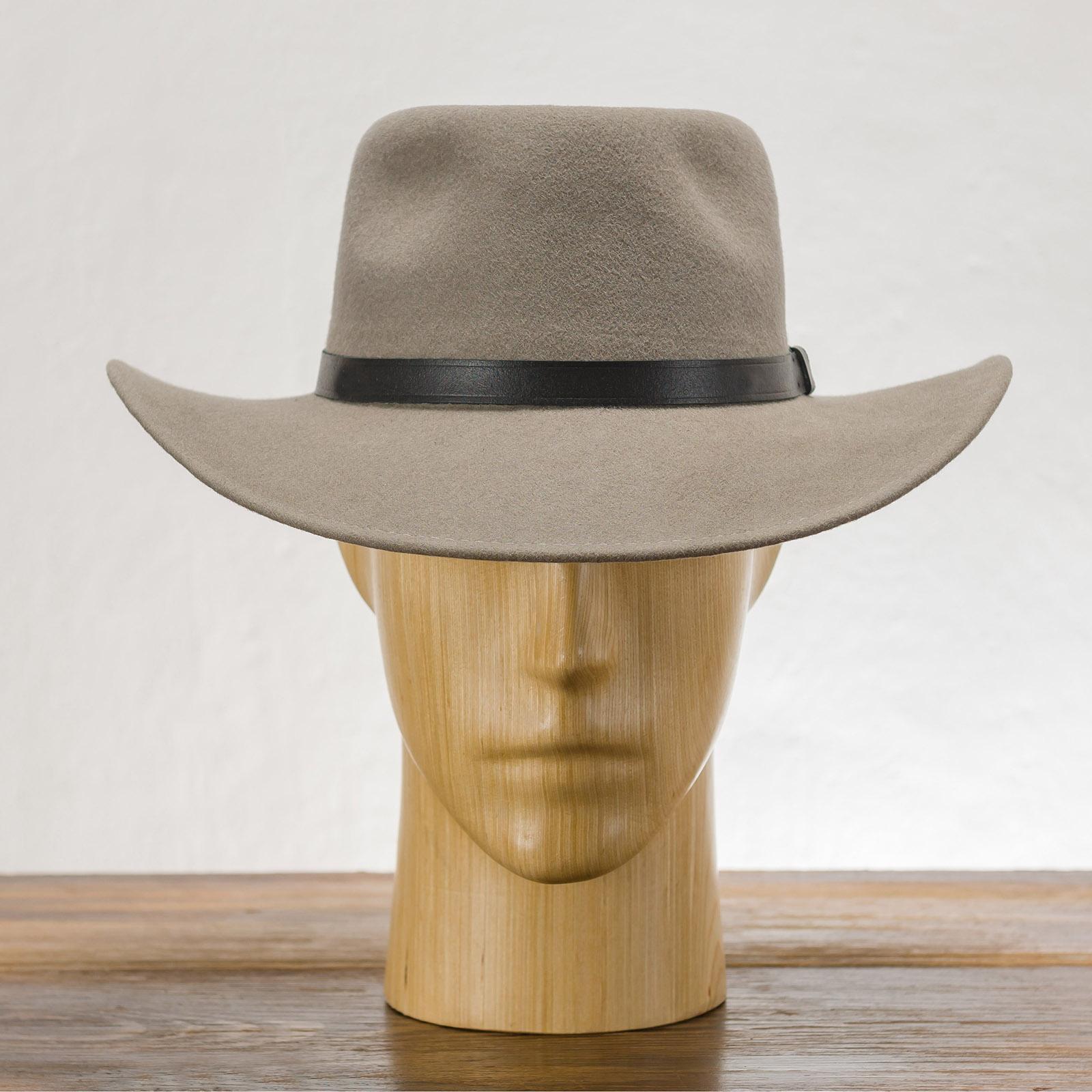 Wool felt teardrop top large brim fedora hat classic jazz vintage boho mobster gangster dressy trilby cowboy western wide brim