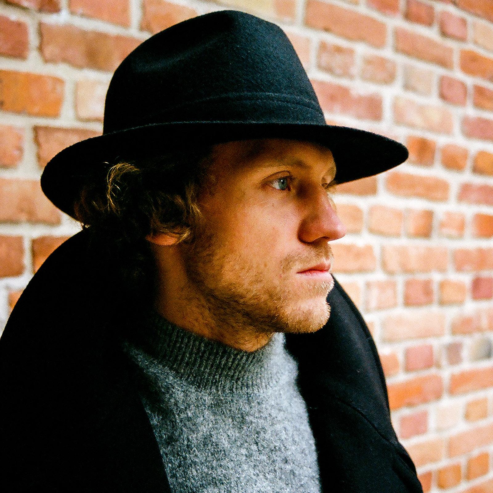 Wool cloth fedora hat wide brim classic jazz vintage boho mobster gangster crown dressy trilby formal fashion wide large brim